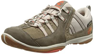 Timberland Corliss Low, Women's Trekking and Hiking Shoes, Light Pewter/Orange, 4 UK