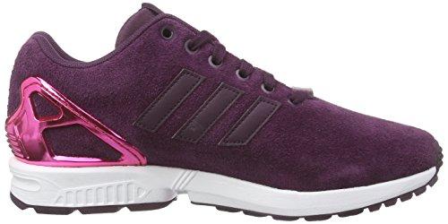 adidas Originals ZX Flux Damen Sneakers Violett (Merlot F15-St /Merlot F15-St /Vivid Berry S14)