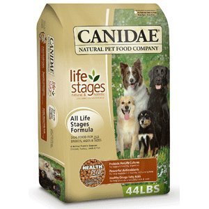 Canidae Dry Dog Food for All Life Stages, Chicken, Turkey, Lamb and Fish, 5-Pound by CANIDAE
