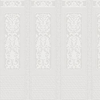 RD0630 Anaglypta Charles Heavily Textured Supaglypta White Paintable Wallpaper