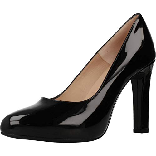 Unisa Zapatos Tacon Patric para Mujer Negro 37.5 EU