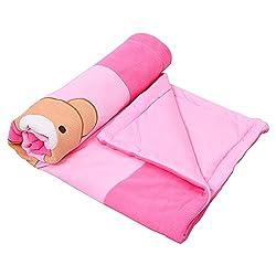 132 Premium Soft Cozy Fleece Blanket for Baby Girl Or Boy | Newborn Receiving Blanket for Crib, Stroller, Travel, Outdoor (34 x 41)