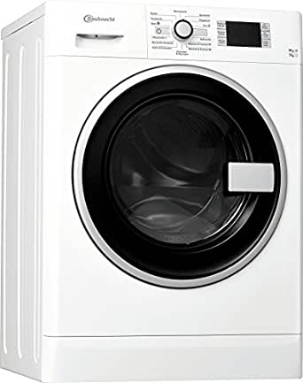 Bauknecht WATK Prime 9716 Waschtrockner / 234 kWh / / Startzeitvorwahl und Restzeitanzeige / Mischwäsche und Wolle Programm / weiß