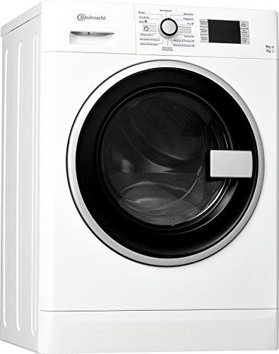 Bauknecht WATK Prime 9716 Waschtrockner / 234 kWh / / Startzeitvorwahl und Restzeitanzeige / Mischwäsche und Wolle Programm / weiß (Europäische Waschmaschine, Trockner)