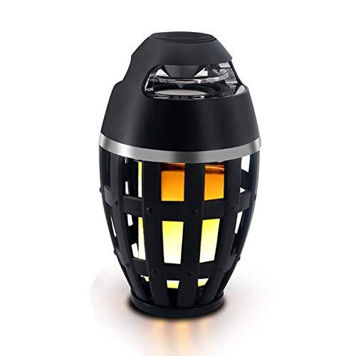 YL-light Flammenlampe der Bluetooth-Sprecher-LED im Freien tragbares Stereo-HD Audio und verbesserter Bass für