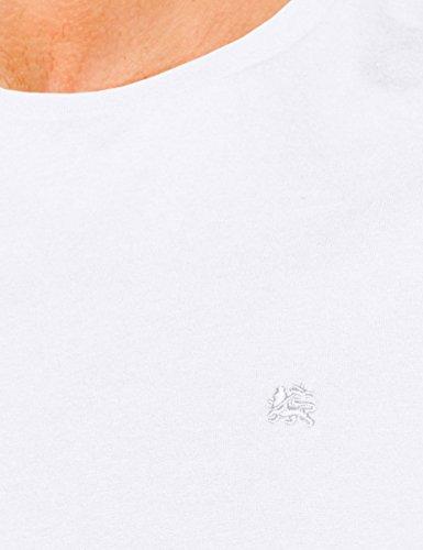 LERROS Herren Rundhals T-Shirt Weiß (White 100)