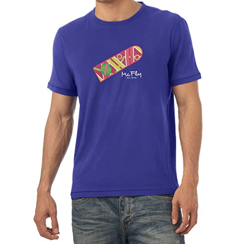 Texlab Herren McFly Pro Series Hoverboard T-Shirt, Marine, XL