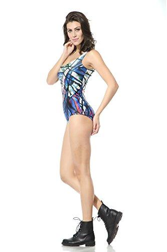 THENICE Donna sexy bikini sottile costume da bagno pezzo Owl