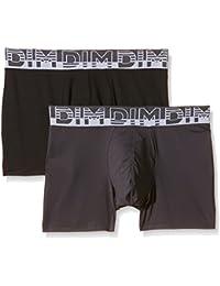 Dim Soft Touch Microfibre X2, Boxer Homme, (lot de 2)