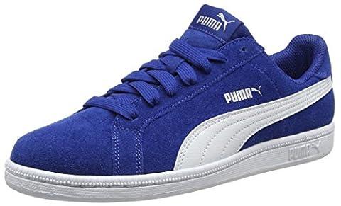 Puma Smash Fun Sd Jr, Sneakers Basses Mixte Enfant, Bleu (True Blue-Puma White 06), 37 EU