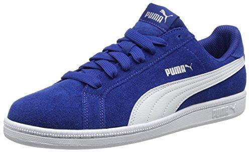 Puma Unisex-kinder Esmagar Divertido Sd Jr Baixo-top Blau (true Blue-puma Branco 06)
