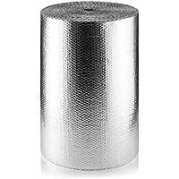 SuperFOIL MP 750mm SFBA Aislamiento de Burbujas (1 Rollo, 75 cm x 50 m) -37,5 m²   3 mm Reflector de Calor de Doble Capa y Barrera Radiante para aislar Suelos, techos y Paredes, 0.75m x 50m (37.5sqm)