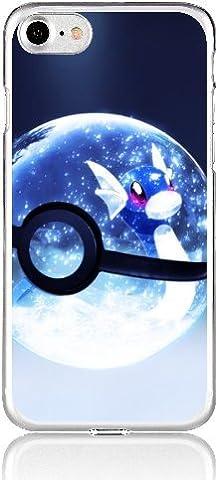 POKEMON iPHONE Schutz Hülle Disney Cartoon Comic Anime Motive Case TPU TeilB blauer Pokeball iPhone 6/6s