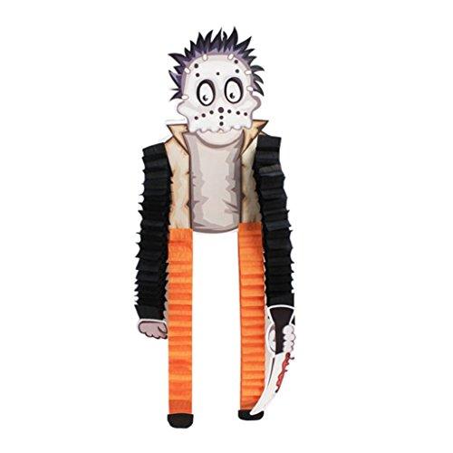 Originaltree Halloween-Papier-hängende Verzierungen Hexe-Skelett-Party-Dekoration (Frankenstein Prop)