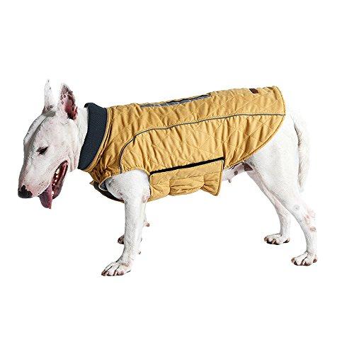Klebrig Outfit (Pet Dogs Warm Kleidung Retro kaltem Wetter Pet Hunde Warm Weste Jacke Mantel Pet Hunde Outfit)