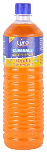 Lyra Cleanall Multipurpose Liquid Detergent - 1000 ml (Brown)