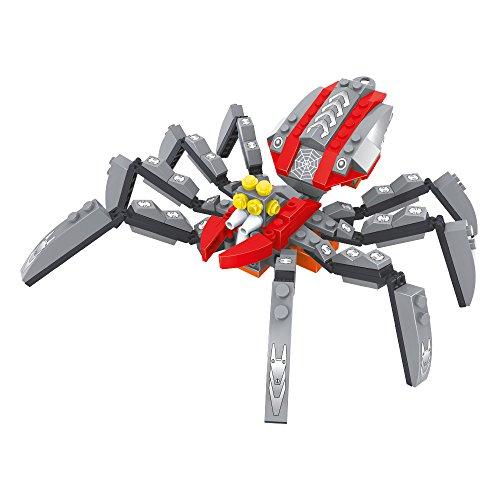 Ausini - Juego de construcción Araña - 202 piezas (ColorBaby 44341)