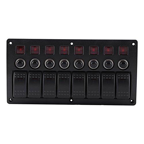 Interruptores automáticos de protección contra sobrecarga del panel del interruptor basculante marino...