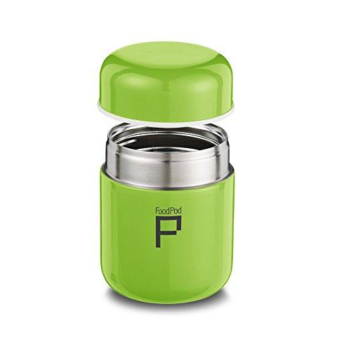 Pioneer Foodpod Thermos anti-fuites Idéal pour nourriture, Acier inoxydable, Green, 280cc