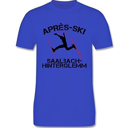 Après Ski - Apres Ski Saalbach Hinterglemm - Herren Premium T-Shirt Royalblau