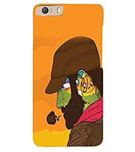 PRINTVISA Swag Beard Man Case Cover for Micromax Canvas Knight 2 E471