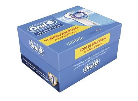 Oral-B Precision Clean Aufsteckbürsten, 12 Stück