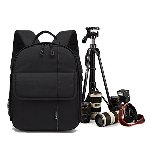 Amazingdeal Outdoor Zaino Fashion Bag Fotocamera Impermeabile Traspirante (Arancione) Arancione