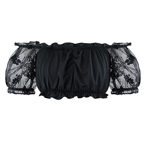 nk Korsett Ernte Top Off Schulter Tank Cami Tops (Burlesque Korsett Kleid)