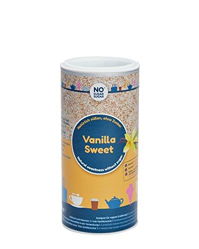 NO SUGAR SUGAR | Vanilla Sweet (150g) Ersatz für Vanille-/Vanillinzucker mit Erythrit+Stevia