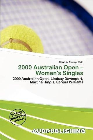 2000 Australian Open - Women's Singles