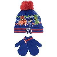 PJ Masks Boys Catboy Owlette and Gekko Hat & Gloves Set
