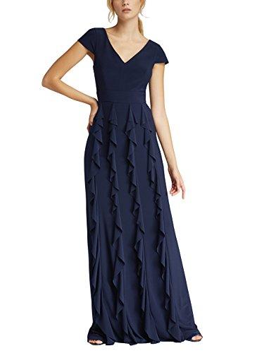 APART Fashion Damen Partykleid 40547 Blau (Midnightblue) 36