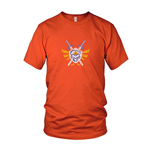 Link Elements - Herren T-Shirt Orange