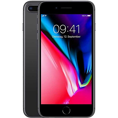Apple iPhone 8 Plus 64 GB UK SIM-Free Smartphone - Space Grey Best Price and Cheapest