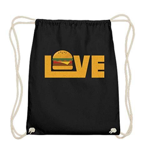 Chorchester Love Burger für alle Fans von Essen - Baumwoll Gymsac