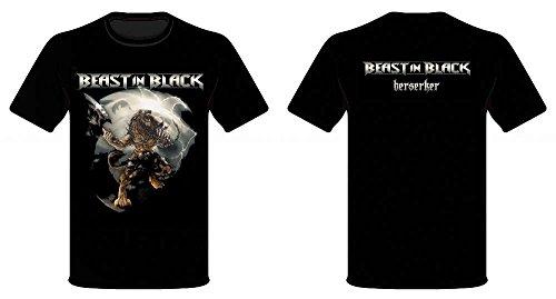 BEAST IN BLACK, Berserker - T-Shirt XXL (Black Shirt Beast)