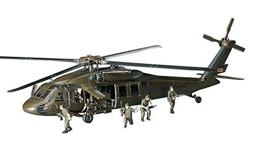 Hasegawa has 00433 - modellino di elicottero uh-60a black hawk
