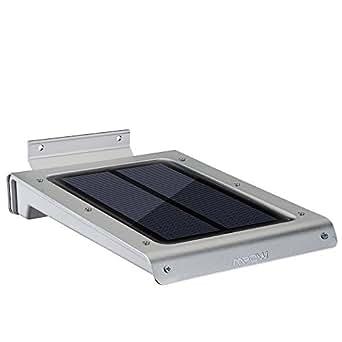 mpow spot solaire mural avec capteur de mouvement automatique on off 46 led lampe de lumi res. Black Bedroom Furniture Sets. Home Design Ideas