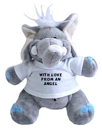 plush-elephant-toy-with-with-love-from-an-angel-t-shirt
