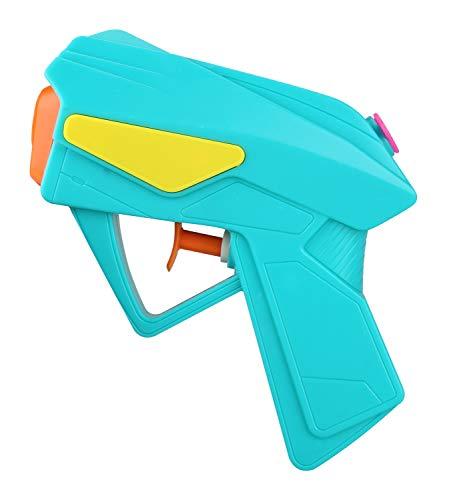 Pistola de Agua Idena 40424 Power de plástico, tamaño Compacto Vacaciones, en la Playa o Piscina, Aprox. 10 cm