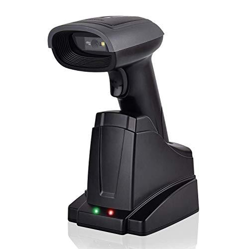 CHSSC Bluetooth-Barcode-Scanner 2-in-1 2,4 GHz Wireless & USB 2.0 Wired 2D-Barcode-Scanner Bild-Barcode-Leser for Mobile Zahlung Computer-Bildschirm