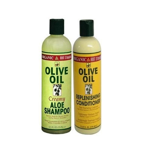 Organic Shampoing et soin pour stimuler le cuir chevelu, à l'huile d'olive