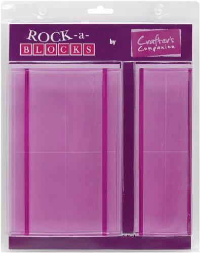 Rock-A-Blocks Stamping Block Set 2/Pkg-4.5
