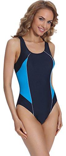 Merry Style Damen Schwimmanzug BD 714 Navy