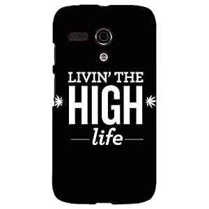 Jugaaduu Weed Quotes Back Cover Case For Moto G (1st Gen)