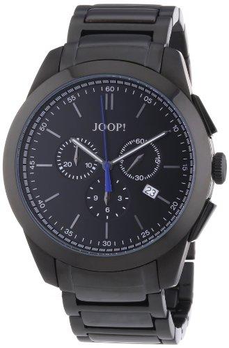 Joop - JP100711F07 - Montre Homme - Quartz Chronographe - Chronomètre - Bracelet Acier Inoxydable Plaqué Noir