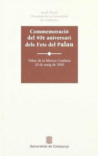 Commemoració del 40è aniversari dels fets del Palau. Palau de la Música Catalana (Missatges, Band 24) (De La Catalana Palau Musica)