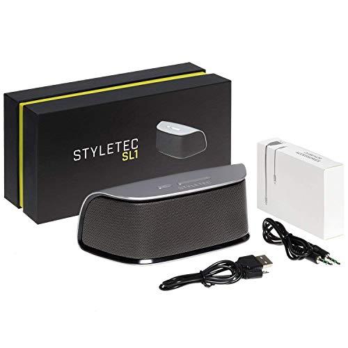 th Speaker mit Freisprecheinrichtung, AUX Audioeingang - schlankes Design + exklusive Verpackung ()