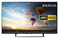 Sony Bravia KD43XE8004 43-inch 4K HDR Ultra HD Smart Android TV with Youview and Freeview HD - Black
