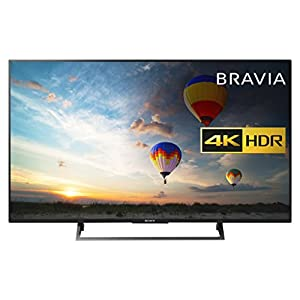 Sony BRAVIA KD49XE8004 49 Inch Smart TV - 4K HDR UHD (Black)